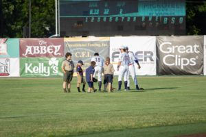 Scouts in the Outfield