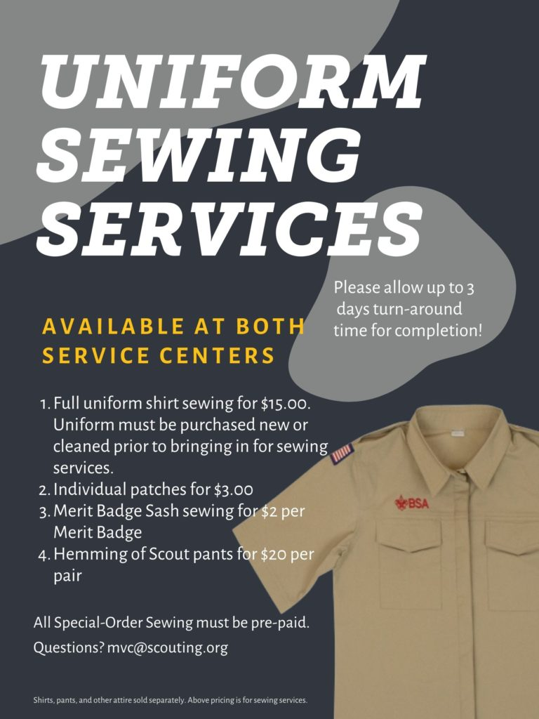 Sewing Services Flyer